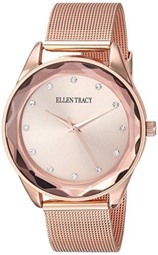 b0509835769b Reloj De Pulsera Y Metal De Cuarzo Para Mujer Ellen Tracy