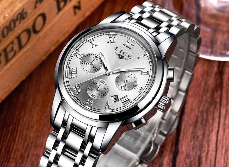 8487525ca Reloj De Pulso Hombre Plateado Elegante Envío Gratis - $ 95.000 en ...