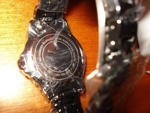 reloj de pulso para dama raphael leon, nuevo!!