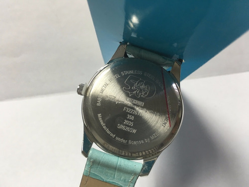 reloj de pulso pitufina pitufos edición especial 50 aniversa