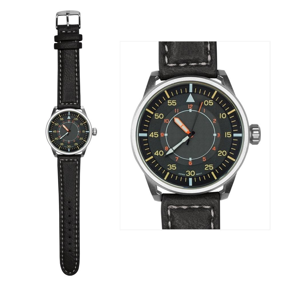 fff137e2c5d2 Reloj De Pulso Royal Pu Movimiento Japones Terminado M-negro ...