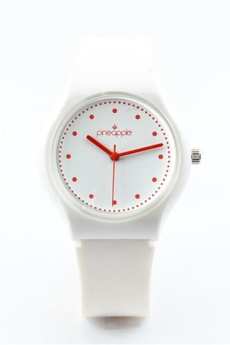 reloj de silicona pineapple honey con rojo (rojo)