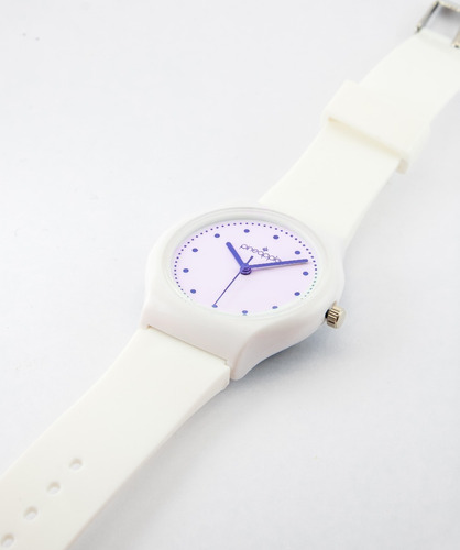 reloj de silicona pineapple honey con violeta