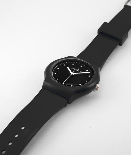 reloj de silicona pineapple honey negro
