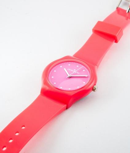 reloj de silicona pineapple honey rosa (rosa)