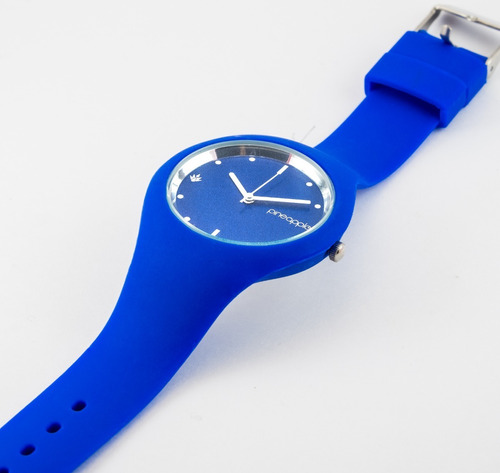 reloj de silicona pineapple sugar azul