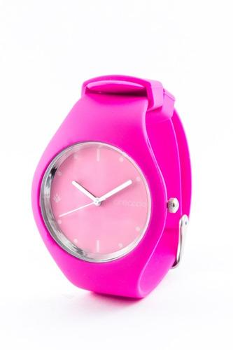 reloj de silicona pineapple sugar rosa