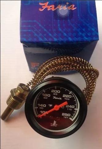 reloj de temperatura mecanico faria