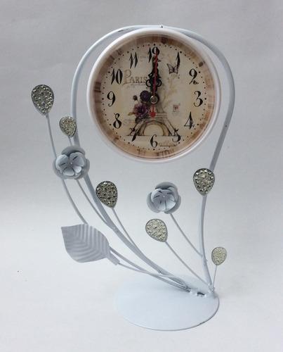 reloj decorativo mesa escritorio 35 x 26 cm