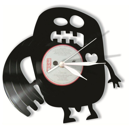reloj decorativo monster-negro