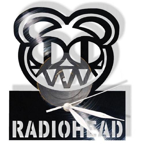 reloj decorativo radiohead
