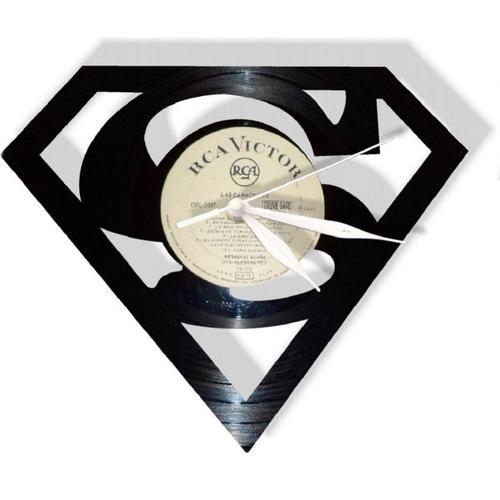 reloj decorativo superman