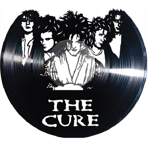 reloj decorativo the cure (cuadro)