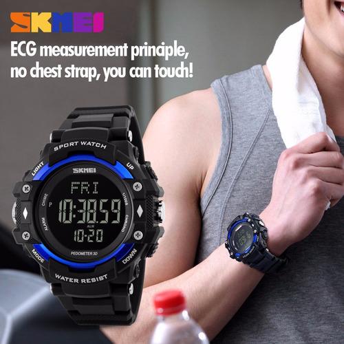 reloj deporte podómetro calorías ritmo cardiaco- elbazaar