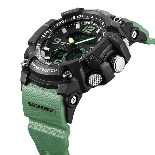 reloj deportivo acuatico doble hora weide mod. j8001