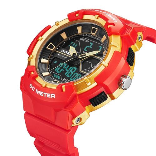 reloj deportivo acuatico doble hora weide mod. j8008