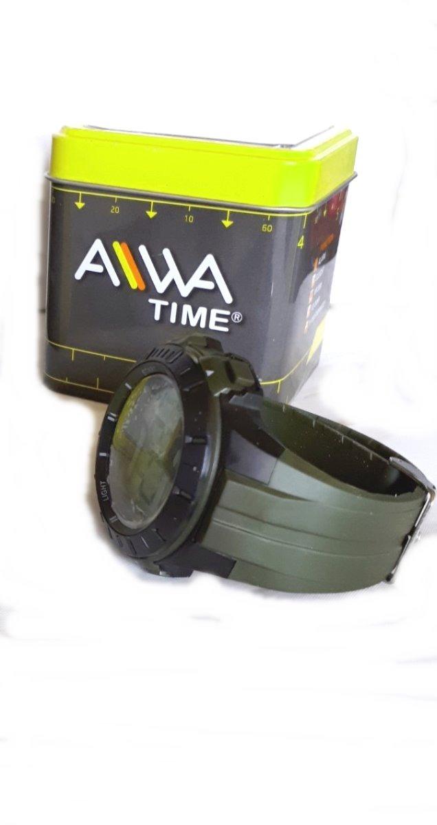 be556ddfa738 reloj deportivo aiwa time sum waters30m hombre negro y verde. Cargando zoom.
