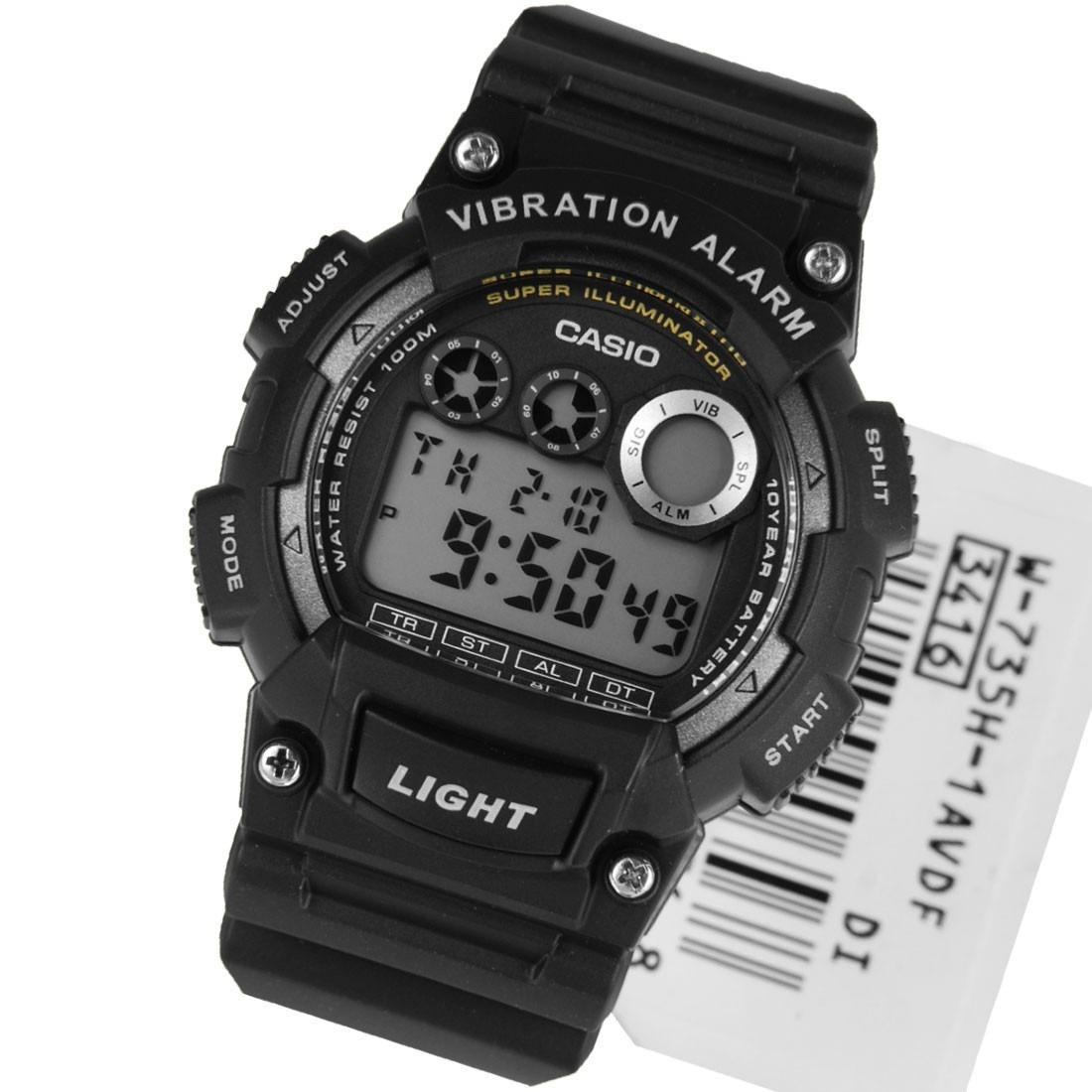 62dcb1069571 reloj deportivo juvenil casio w-735h negro vibration. Cargando zoom... reloj  deportivo casio. Cargando zoom.