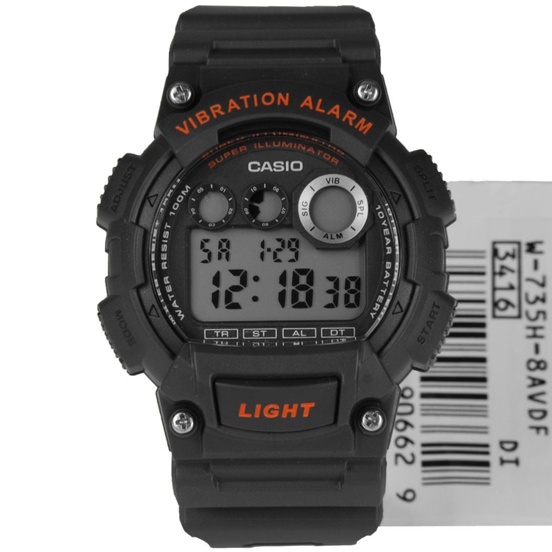 8ac4af4ac6b0 reloj deportivo juvenil casio w-735h gris vibration. Cargando zoom... reloj  deportivo casio. Cargando zoom.