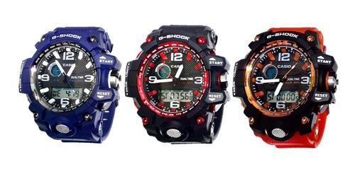 reloj deportivo casio g-shock digital resistente al agua