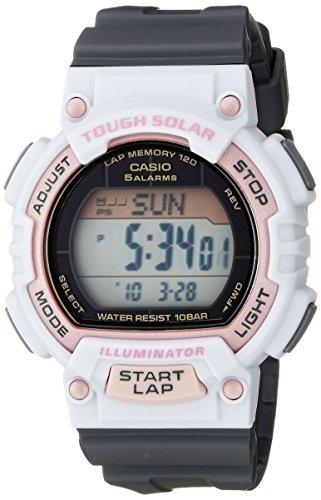 reloj deportivo casio stl-s300h-4acf solar runner para mujer