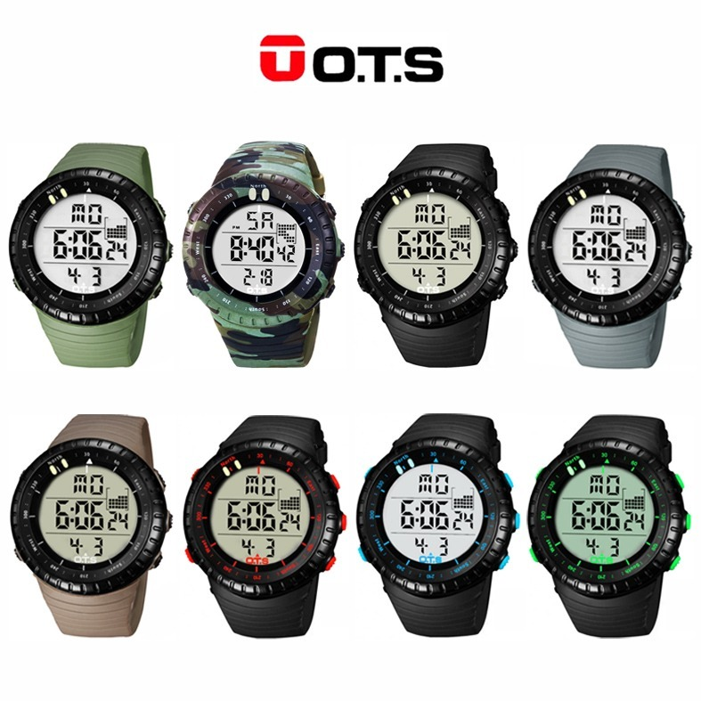 4de3ad7cad47 Reloj Deportivo Casual Verde Hombre Ots Original T7005 - S  65