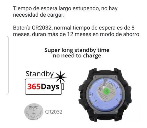 reloj deportivo colmi resistente al agua 50 mts podometro