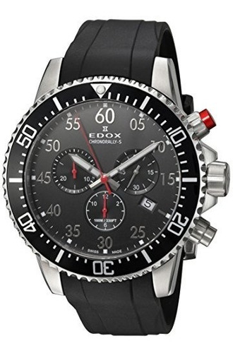 reloj deportivo cronografo edox 10227 3ca
