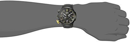 reloj deportivo de cuarzo de acero inoxidable y cronografo d