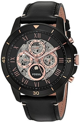 f21fb3d47058 Reloj Deportivo De Cuero Fossil Me3138 Grant Sport -   306.990 en ...