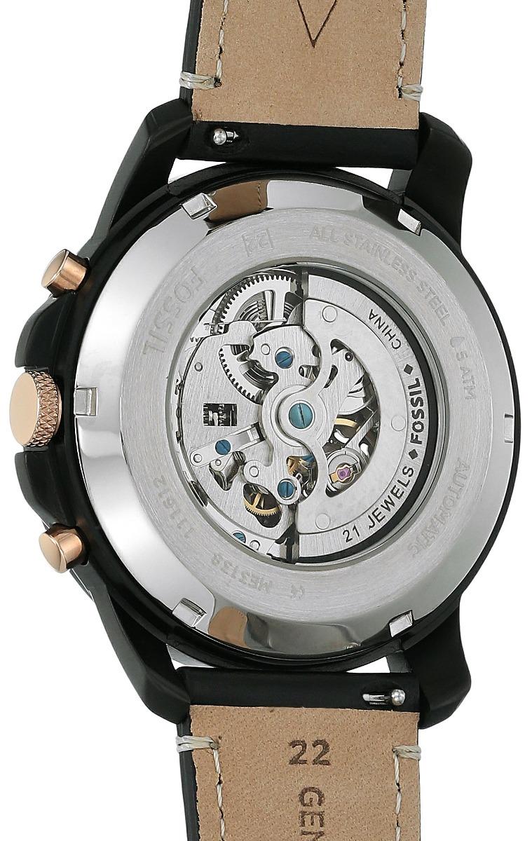 6e2aae819c6f reloj deportivo de cuero fossil me3138 grant sport automatic. Cargando zoom.