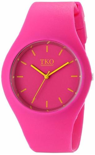 reloj deportivo de dama color fucsia precios especiales