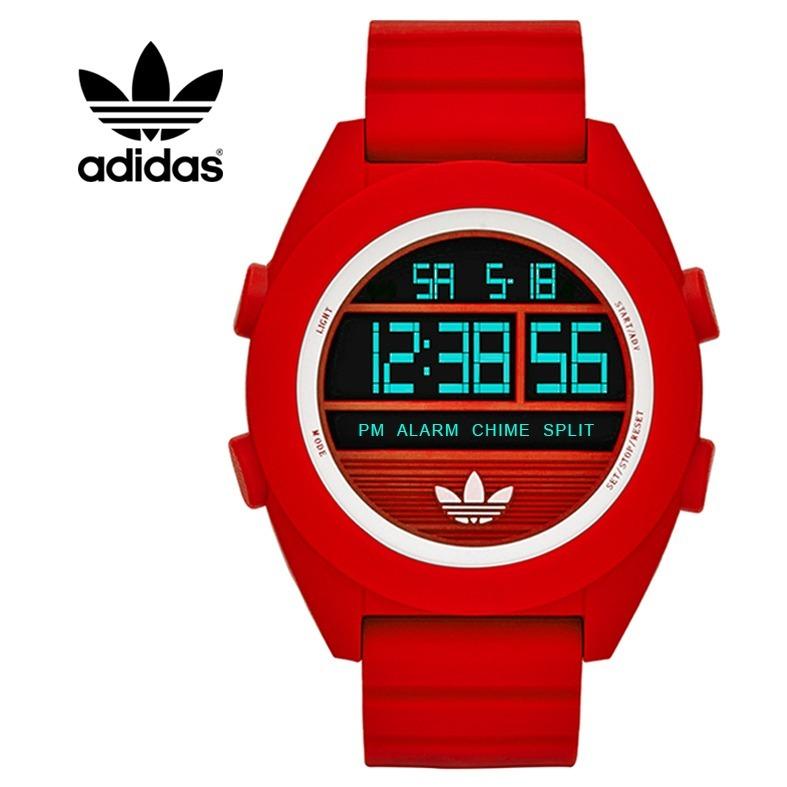 7cdf6e50205a Reloj Deportivo Digital adidas Rojo Casual Replica Acuático - S  69 ...