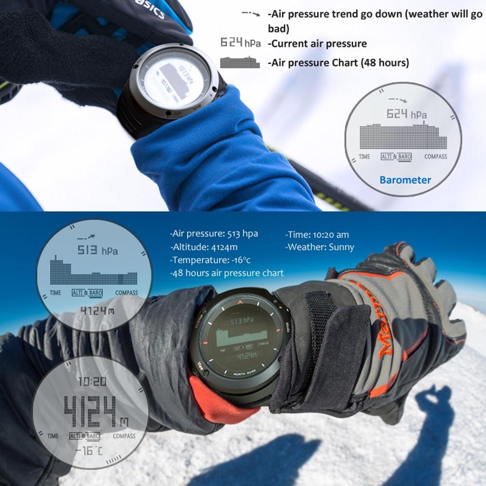 a30ade6d8363 reloj deportivo digital para hombre correr ciclismo escalada. Cargando zoom.