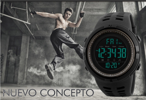 reloj deportivo digital skmei modelo 1251 con cta. regresiva