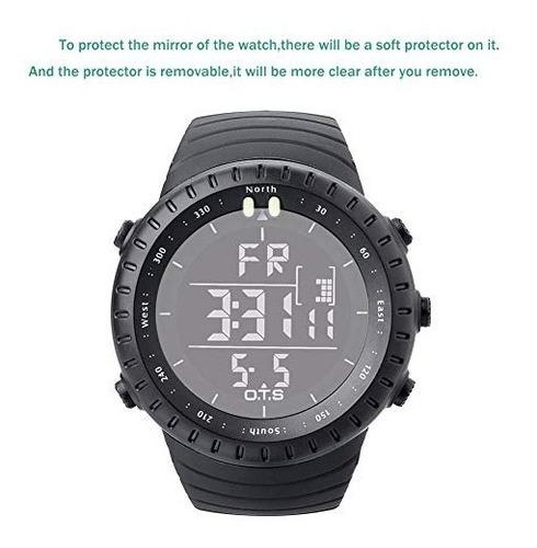 reloj deportivo digital tactico impermeable para hombres de