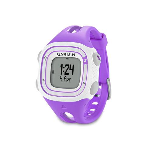 reloj deportivo garmin forerunner 10 gpswatch (violeta)