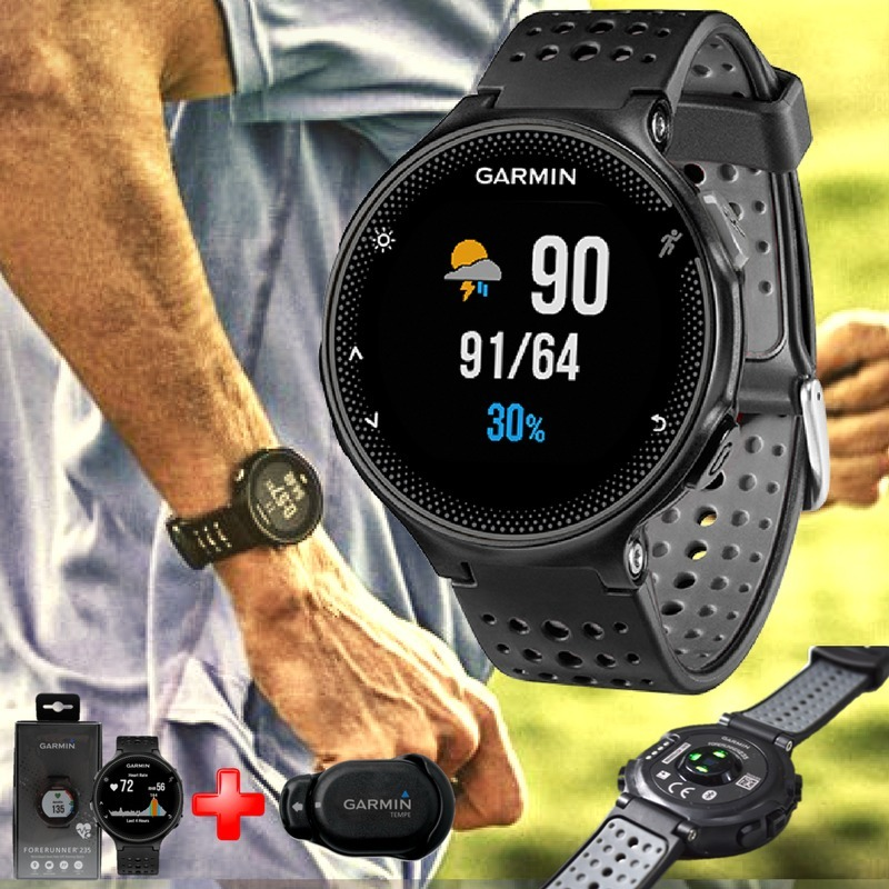 862108059a38 Reloj Deportivo Garmin Forerunner 235 Hr Sensor Nuevo -   1.099.900 ...