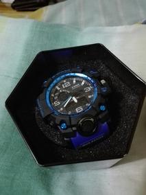 a24bb6022eec Reloj D.ziner Relojes Masculinos Skmei - Relojes Pulsera Masculinos ...