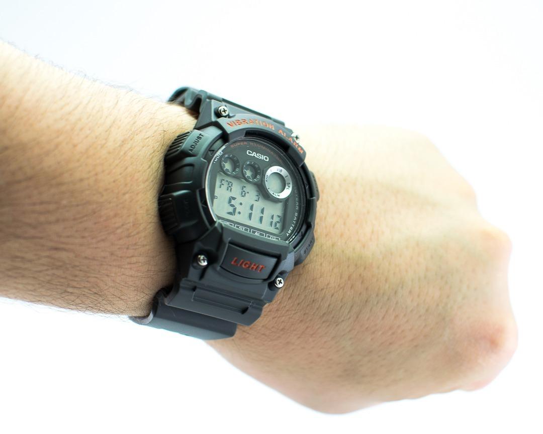 96e418087546 Reloj Deportivo Juvenil Casio W-735h Gris Vibration -   33.990 en ...