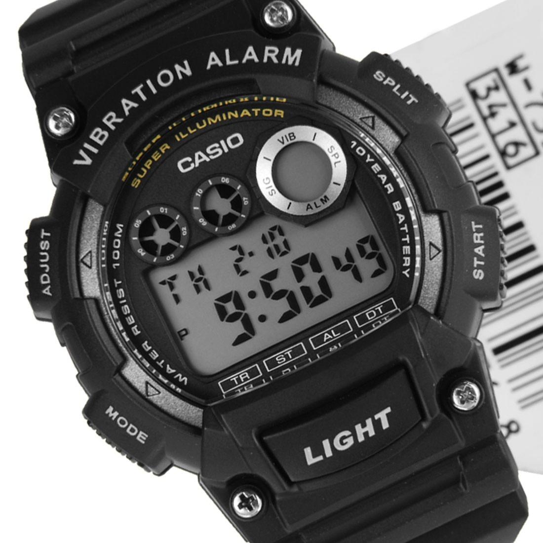 c9fc13f5c6c0 Reloj Deportivo Juvenil Casio W-735h Negro Vibration -   33.990 en ...