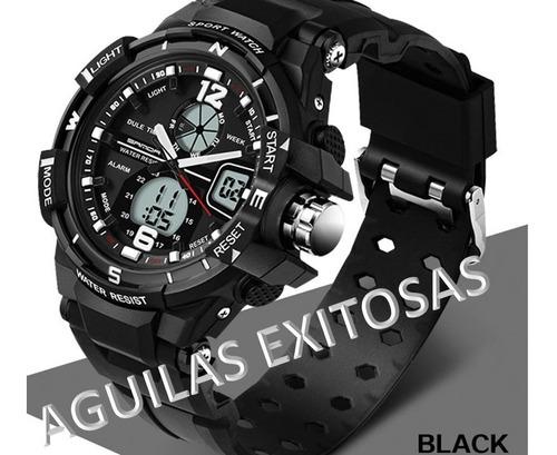 reloj deportivo militar para hombre led digital electronico