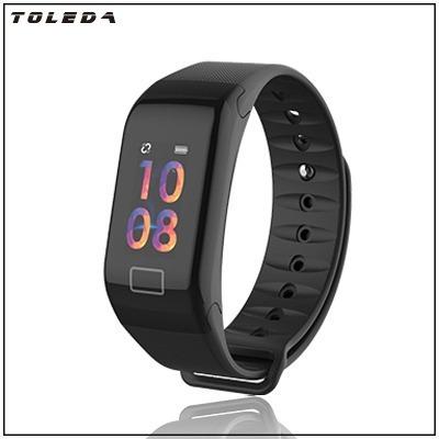 reloj deportivo monitor de salud toleda t1+ presion pulso