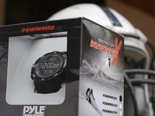 reloj deportivo montañista alpinistas ciclistas pyle wm82