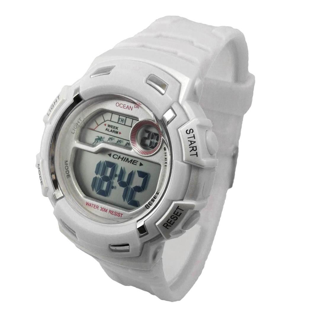 256e0c358f34 reloj deportivo mujer sumergible 30m luz cronometro dama. Cargando zoom.