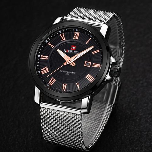 reloj deportivo naviforce 4106 multifuncional 3 atm