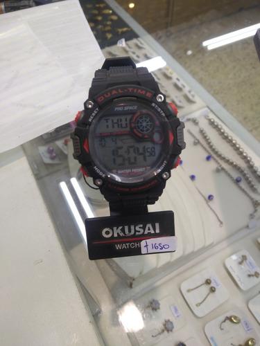 reloj deportivo okusai sumergible