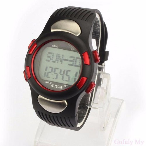 reloj deportivo podometro cronometro cuentra regresiva
