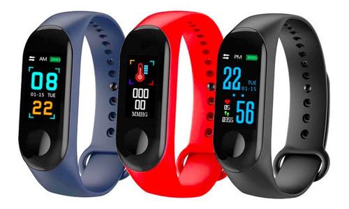 reloj deportivo pulsera inteligente m3 nuevo