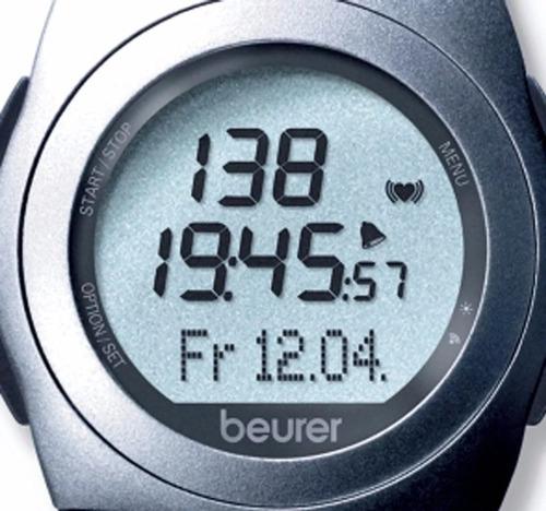 reloj deportivo pulsometro análogo básico pm25 beurer msi